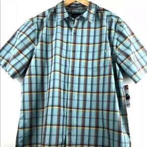 Marmot Barnabe SS Plaid Shirt, Sun Protection